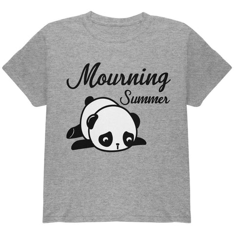 Back To School Mourning Summer Panda Youth T Shirt