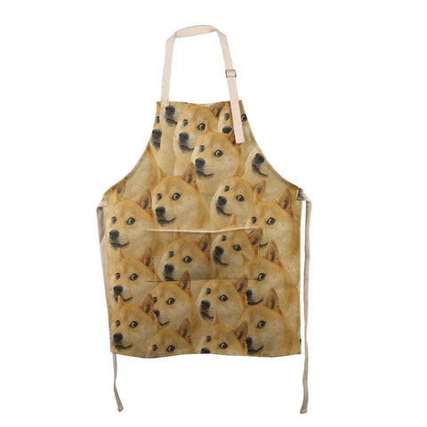 Doge Meme All Over Apron
