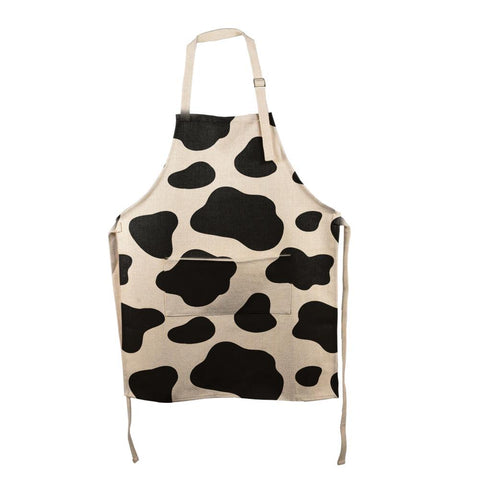 Cow Pattern All Over Apron