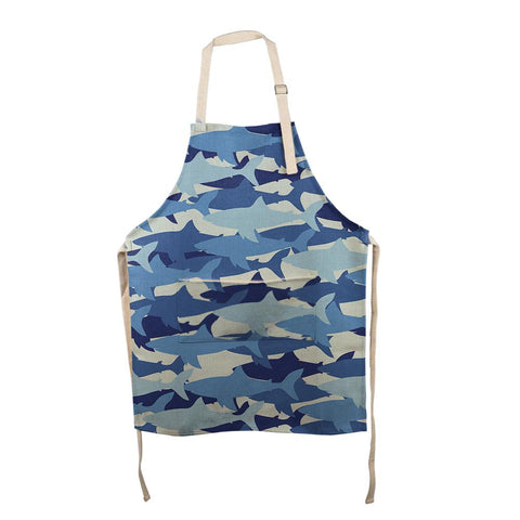 Shark Camo All Over Apron