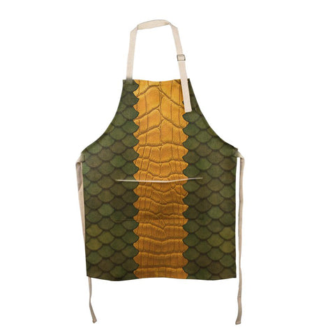Halloween Green Dragon All Over Apron