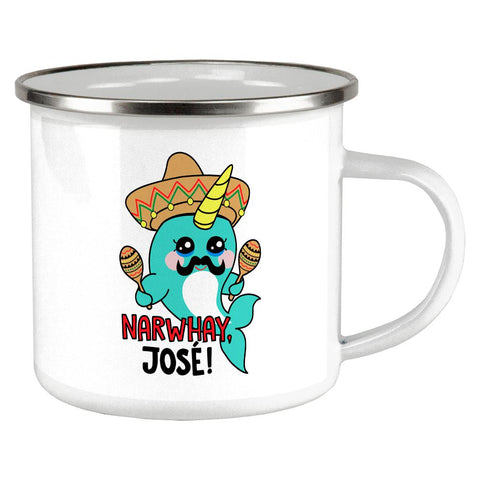 Christmas Narwhal Narwhay No Way Jose Camp Cup