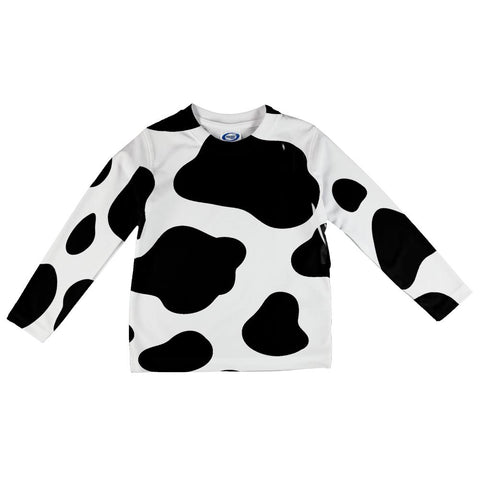 Cow Pattern Costume All Over Toddler Long Sleeve T Shirt