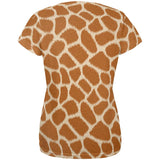 Halloween Giraffe Costume All Over Womens T Shirt