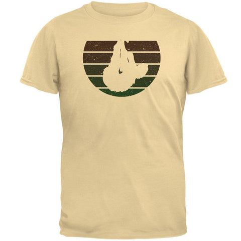 Sloth Retro Naturals Mens T Shirt