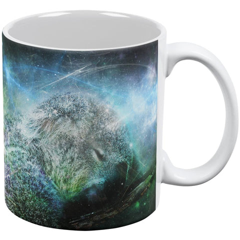 Galaxy Koala is My Spirit Animal All Over Coffee Mug