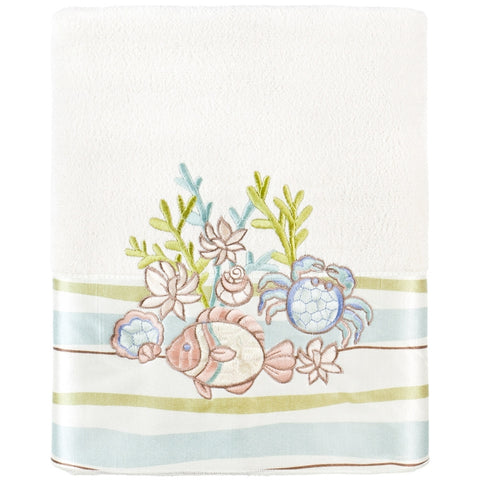 Variety Ocean Friends Fish & Crab Bath Towel