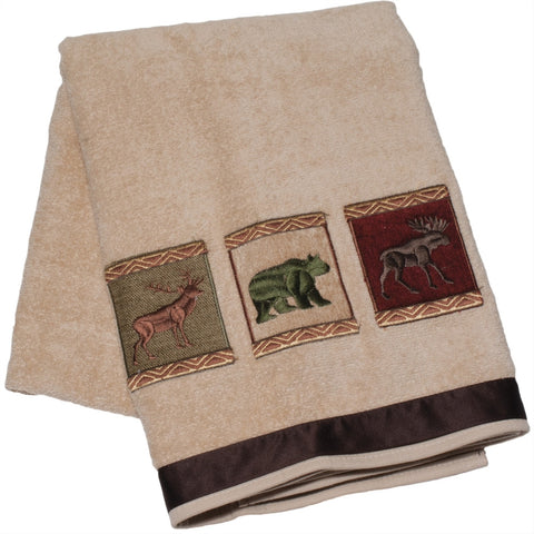 Variety Forest Friends Bath Towel