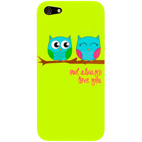 Owls On A Branch iPhone 5 Cover
