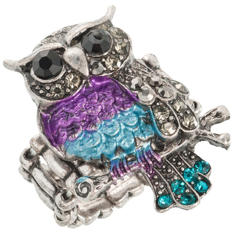Owl Hootie Patootie Stretch Ring