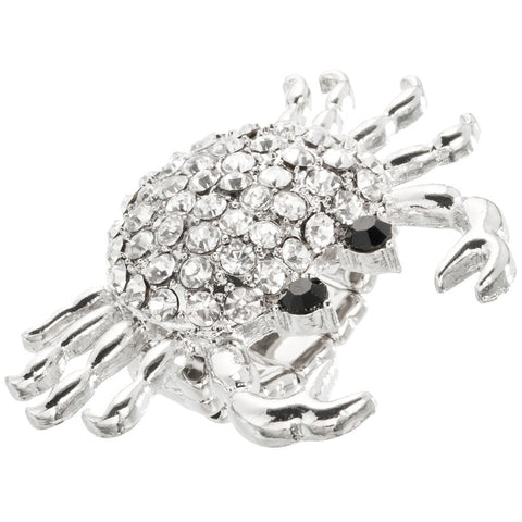 Crab Crabby Pattie Stretch Ring