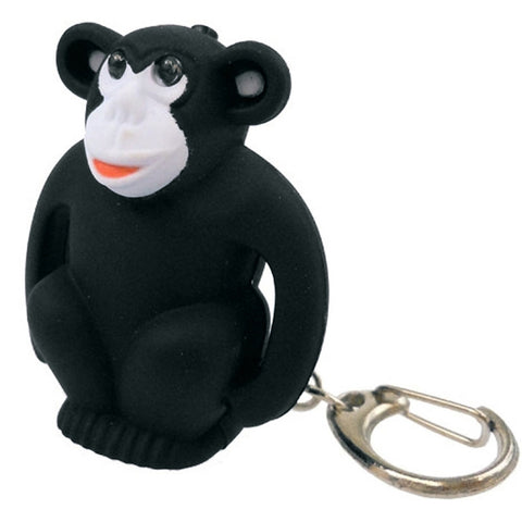 Monkey Body LED Light Key Tag With Sounds