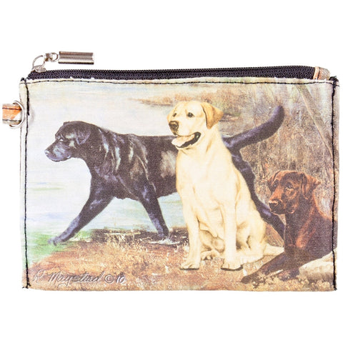 Labrador Retrievers By the Lake Zippered Pouch