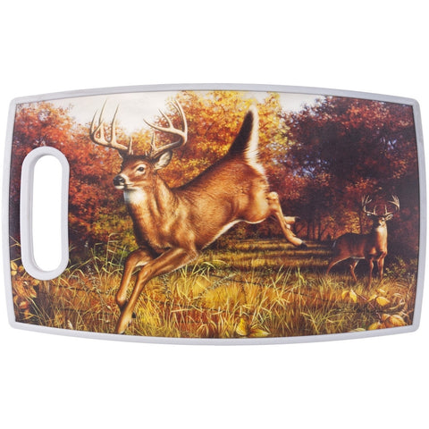 Deer Jumping PPE Plastic Cutting Board