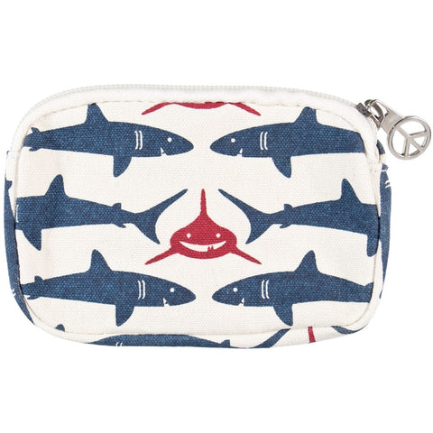 Sharks Swimming Everywhere Wristlet