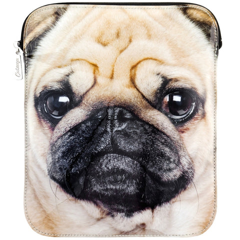 Pug Large Face iPad Sleeve