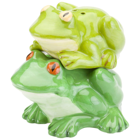Frogs Stacked Salt & Pepper Shakers