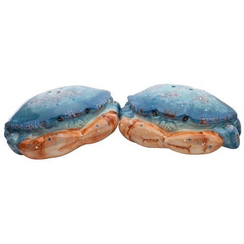Blue Crabs Ceramic Salt & Pepper Shakers