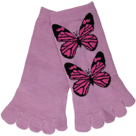 Butterfly Twins Toe Socks