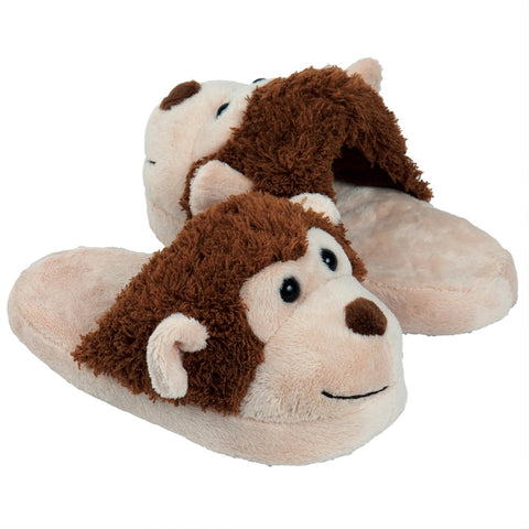 Monkey Faces Kid's Slippers