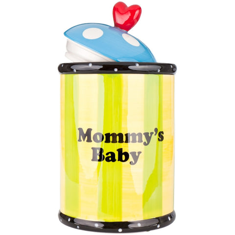 Dog Mommy's Baby Ceramic Cookie Treat Jar