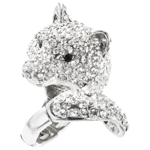 Cat Head Adjustable Ring