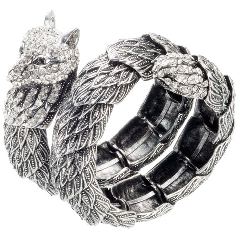 Cat Head Bangle Bracelet