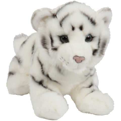 Silky the White Bengal Tiger Cub Soft Plush Toy