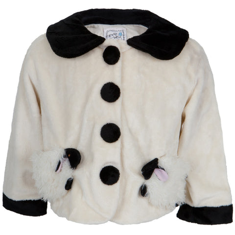 Lamb Bodies Fuzzy Infant Jacket