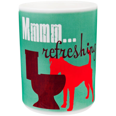 Dog Mmmm Refreshing Coffee Mug