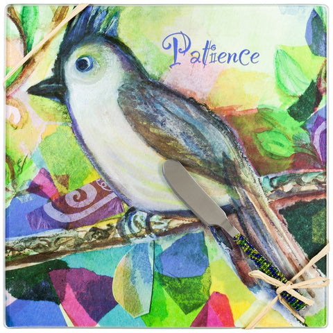 Bird Patience Cheese Board