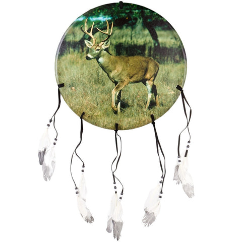 Deer Buck in Grasslands Dream Catcher