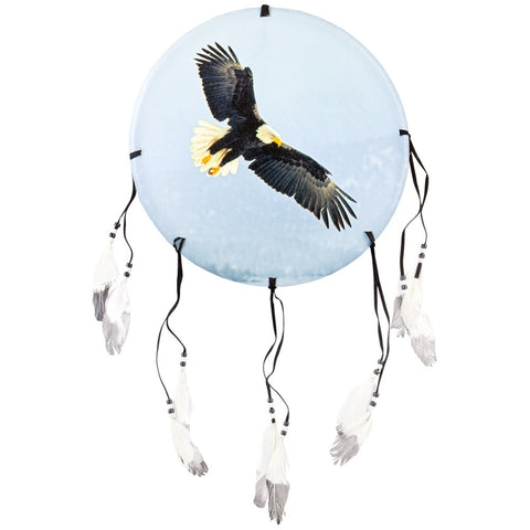 Eagle Soaring in Sky Dream Catcher