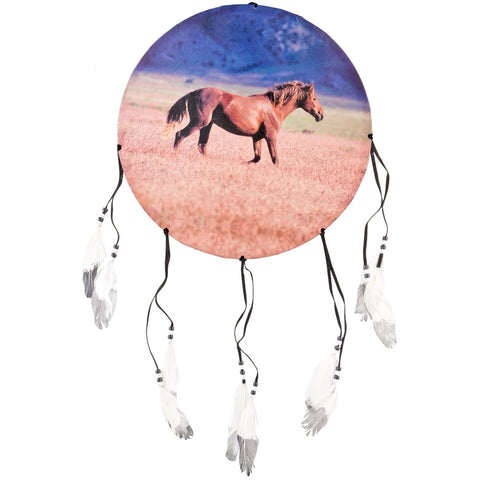 Horse Side Profile Dream Catcher