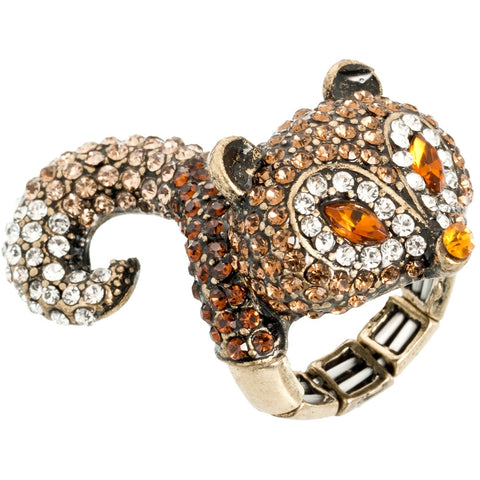 Oh Foxy Lady Stretch Fox Ring