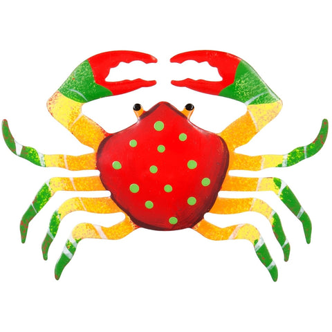 Red Crab Body Bobble Metal Magnet