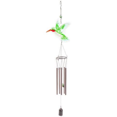 Hummingbird Flying Wind Chime