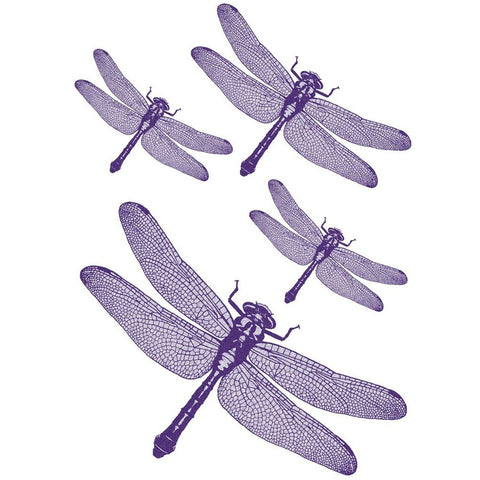 Dragonfly Bodies Wall Decal Set