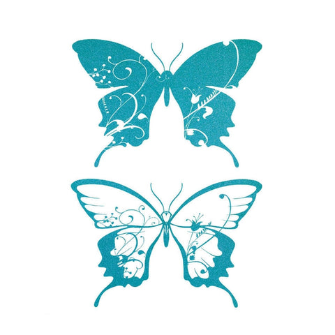 Butterfly Large Body Wall Decal Set