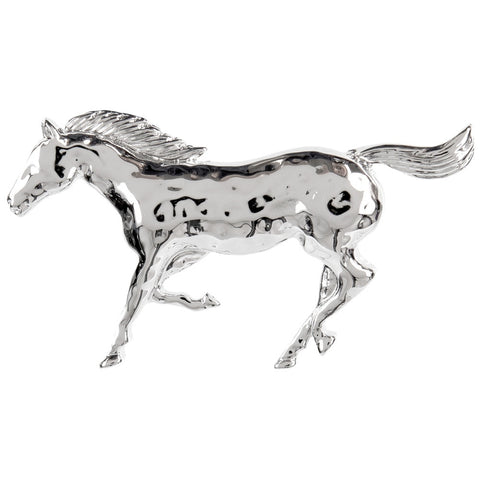 Horse Running Brooch
