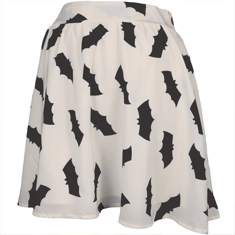 Bat Silhouettes Women's Skater Skirt