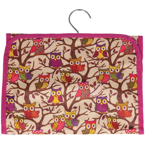 Owls In a Tree All-Over Cosmetic Bag