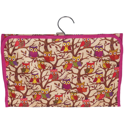 Owls In a Tree All-Over Jewelry Bag