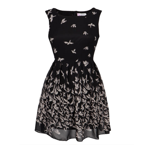 Doves Flying All-Over Women's Dress