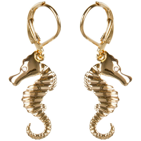 Seahorse Body Earrings