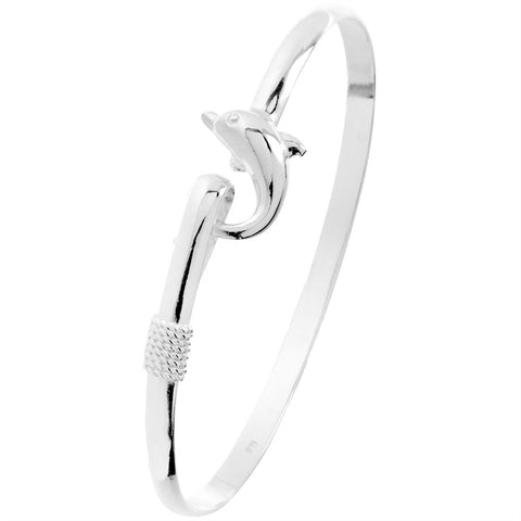 Dolphin Body Bangle Bracelet