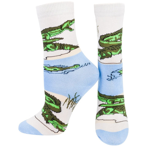 Alligators By Swamp Youth Socks