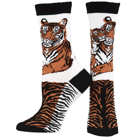 Tigers In Love Youth Socks