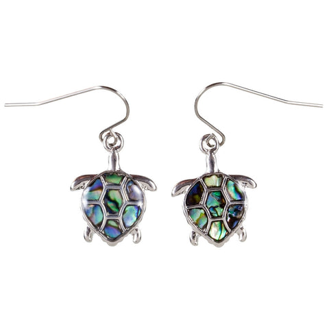 Turtle Wild Pearle Body Dangle Earrings