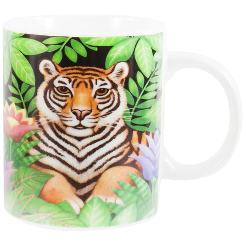 Tiger In Jungle Coffee Mug